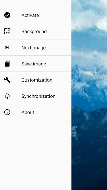 descargar rainpaper para android