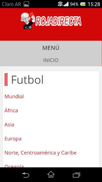 descargar roja directa futbol para android