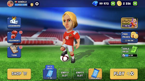 mini football apk mod nueva actualizar