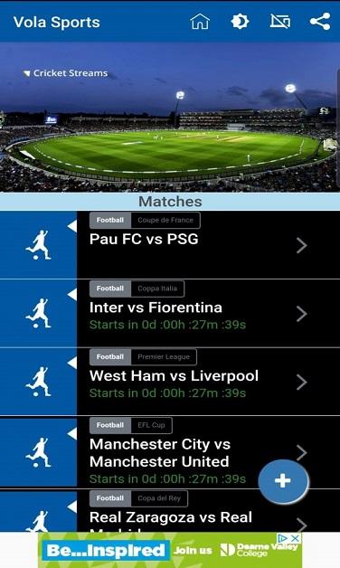 vola sports apk gratis descargar