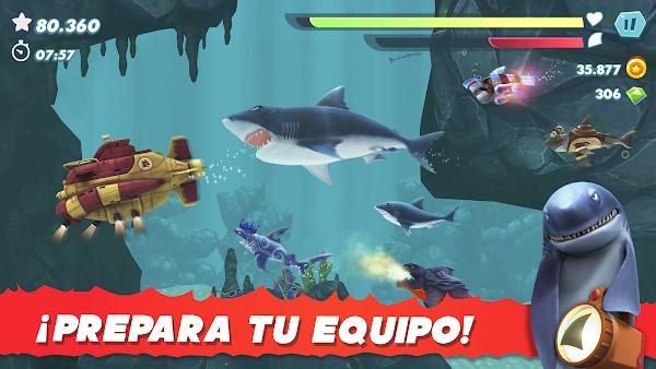 hungry shark evolution apk mod