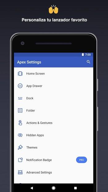 apex launcher apk mod