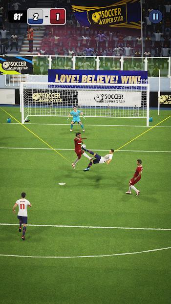 soccer super star apk mod