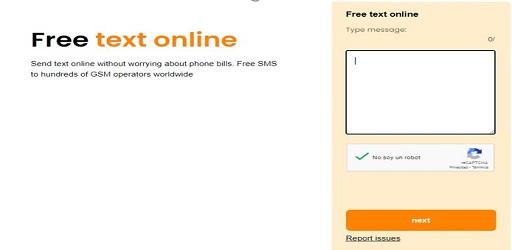sms gratis online españa