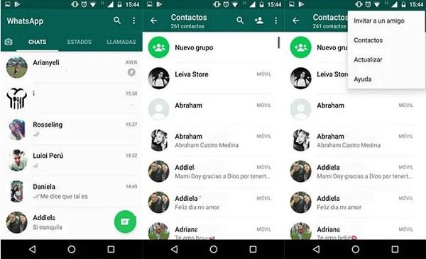 como ocultar un contacto en whatsapp
