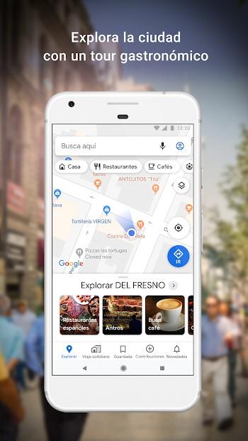 google maps apk mod nueva actualizar