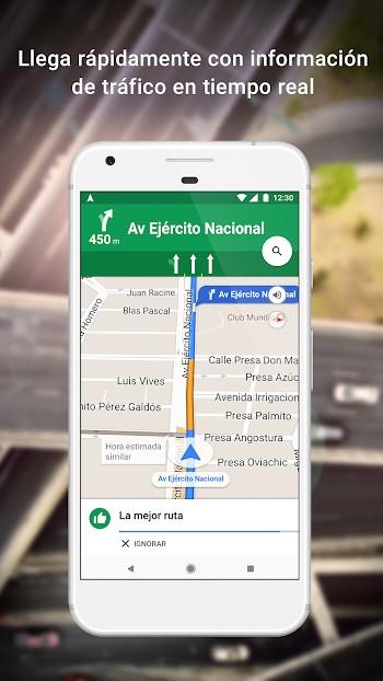 google maps apk mod