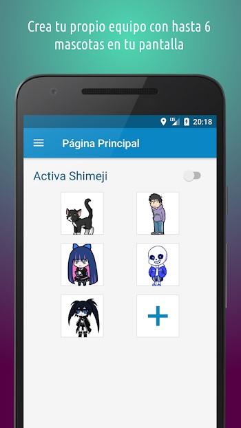 shimeji apk gratis descargar