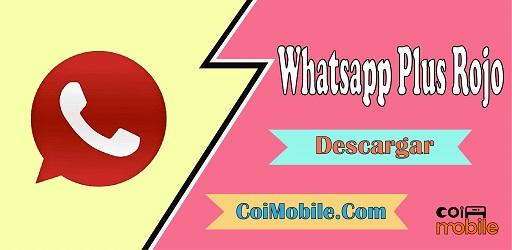 Whatsapp Plus Rojo APK 9.75