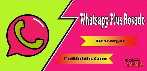 Whatsapp Plus Rosado Mod APK 2021